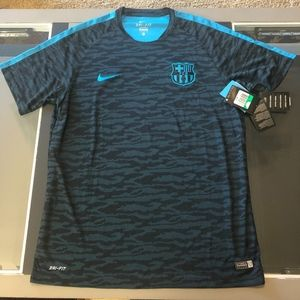 NWT OFFICIAL Nike FCB BARCELONA Mens Soccer Jersey